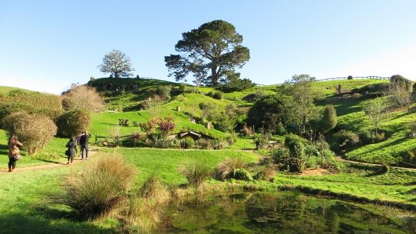 Neuseeland Hobbit Dorf