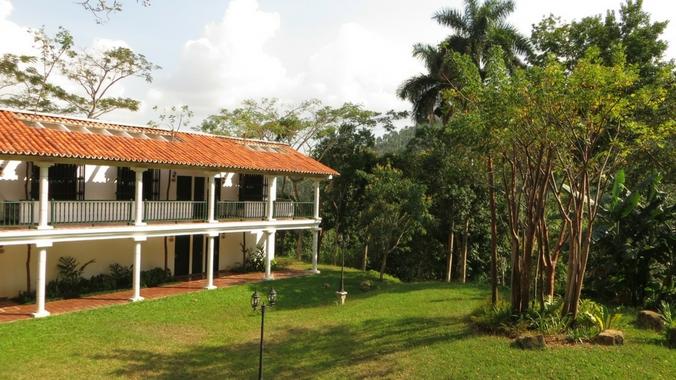 Ansicht des Hotel Moka