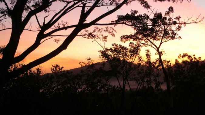 Sonnenaufgang in Las Terrazas