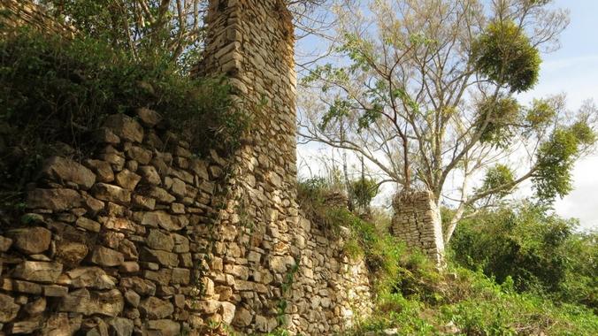 Ruine einer Kaffeeplantage in der Sierra del Rosario