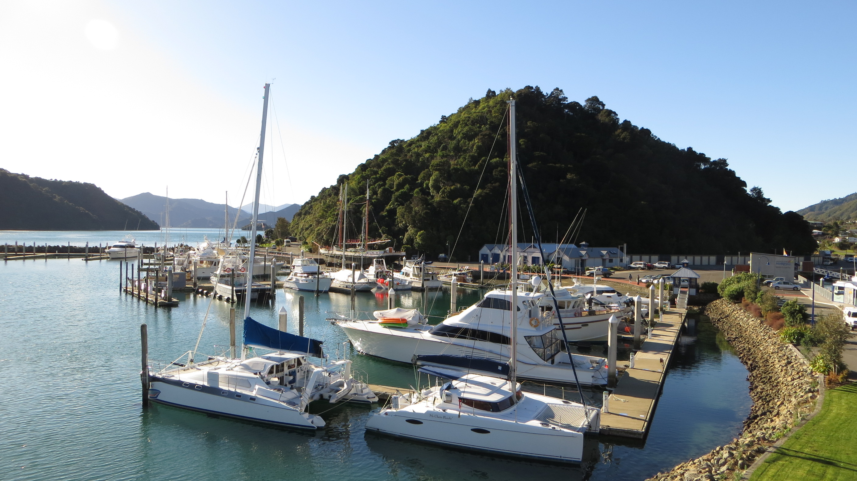 kleiner Hafen in Picton