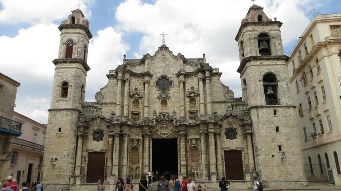 Ansicht der Kathedrale in Havanna