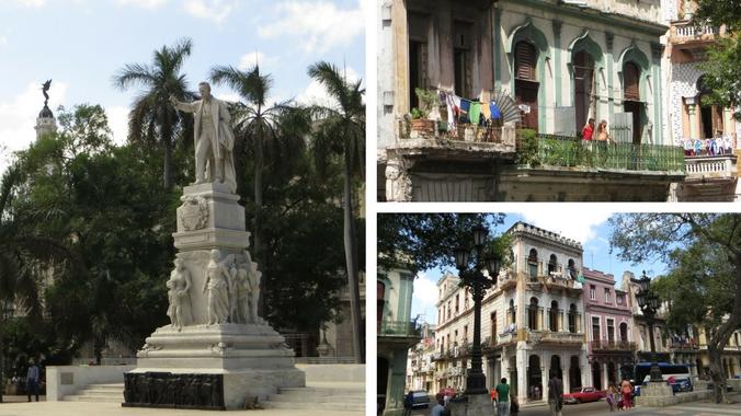 Bilder vom Parque Central und Havannas Prado