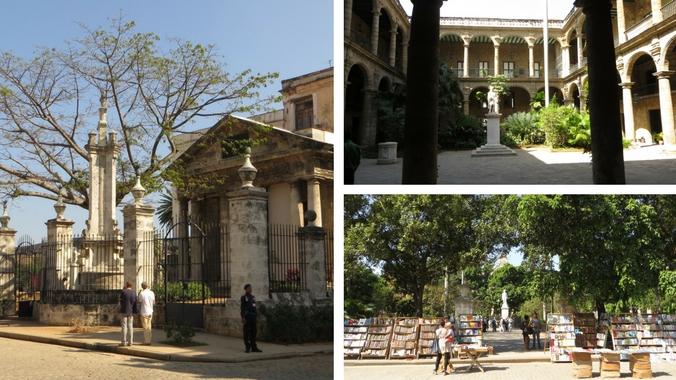 Impressionen des Plaza de Armas in Havanna