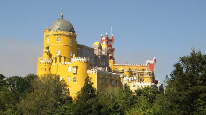 Ausblick auf den Palacio da Pena in Sintra