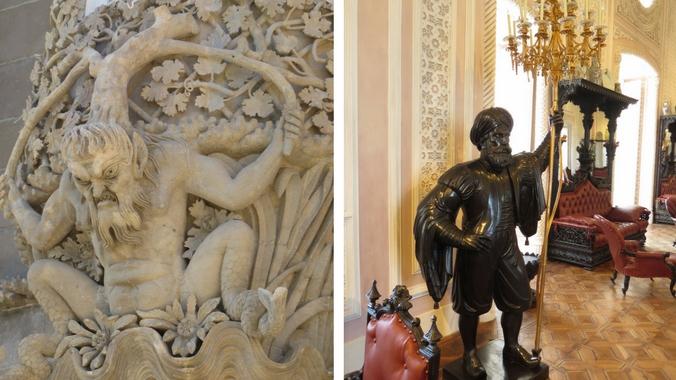 Dekor des Palacio da Pena