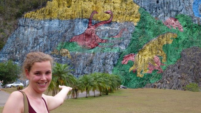 Das Mural de la Prehistoria auf Kuba