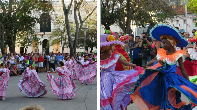 Strassenfest in Santa Clara auf Kuba
