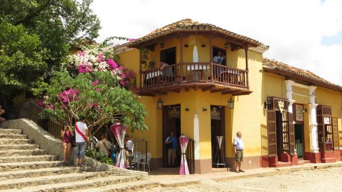 Malerische Altstadt von Trinidad auf Kuba