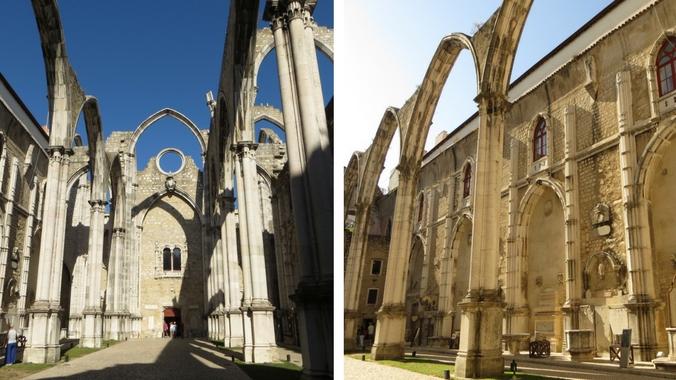 Convento do Carmo in Lissabon