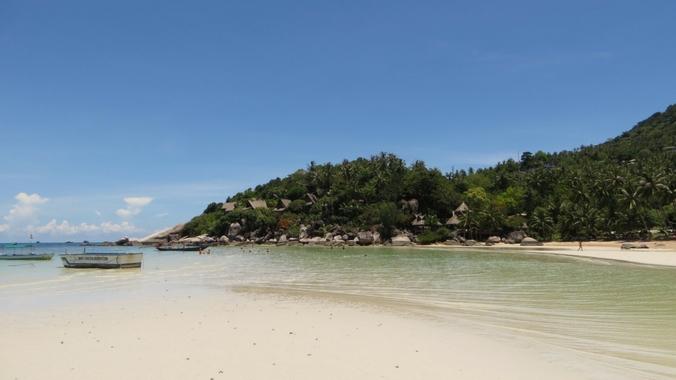 Strand auf Koh Tao
