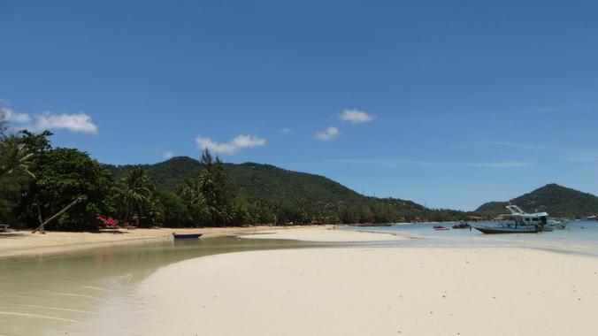 Schöner Strand auf Koh Tao