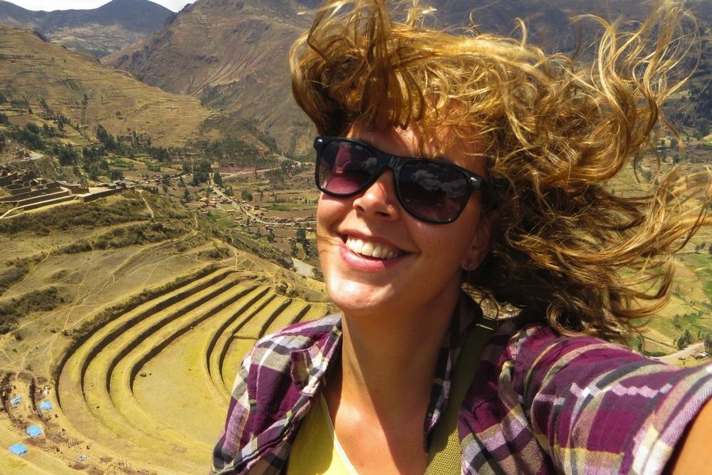 Peru Haare Selfie