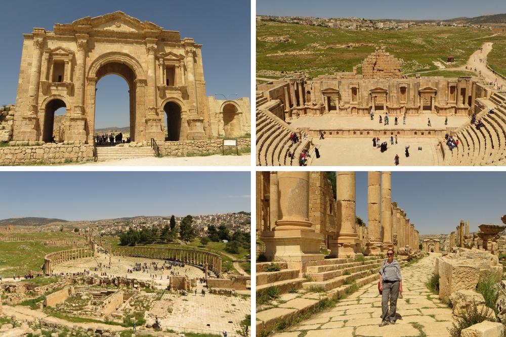 Jordanien Sehenswürdigkeiten Jerash