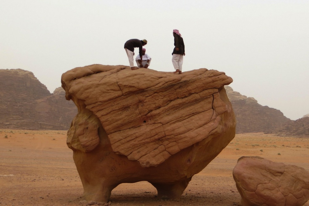 Jordanien Wadi Rum Chicken Rock
