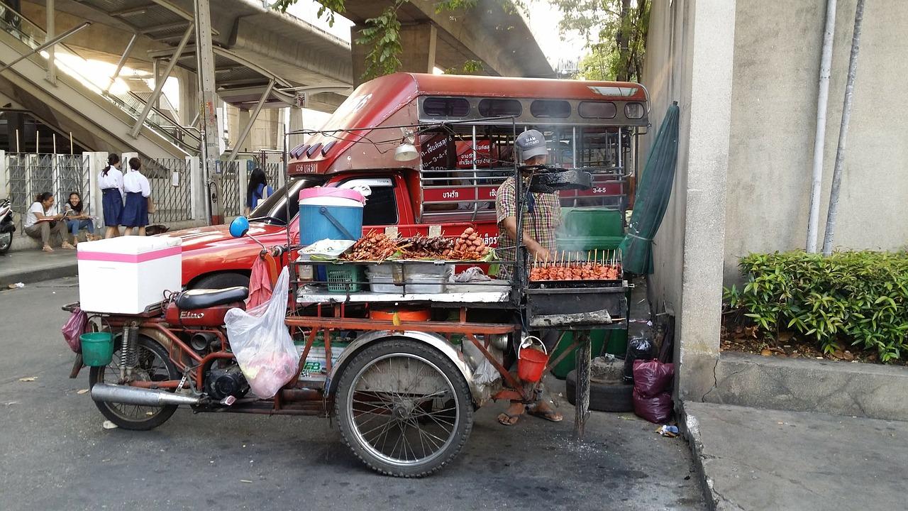 asiatisches Street Food