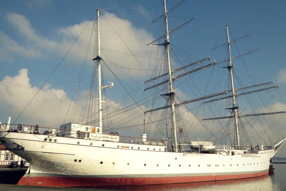 Museumsschiff Gorch Fock Stralsund