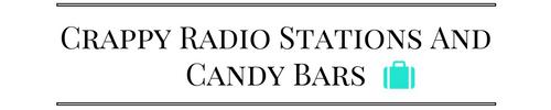Logo neu Crappy Radio Stations and Candy Bars