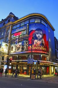 London Les miserables