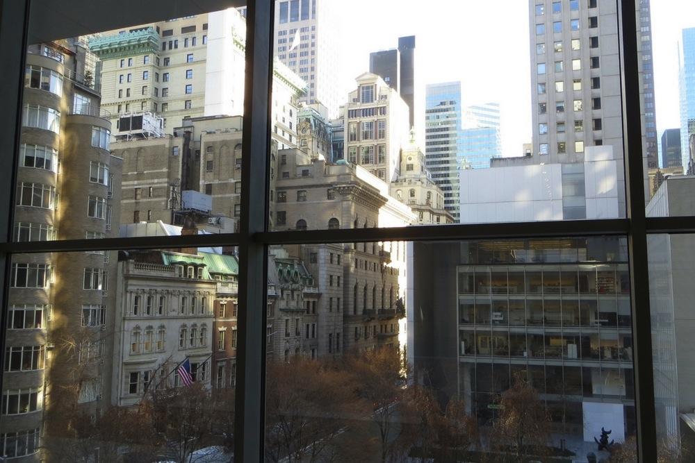 Aussicht aus dem Museum of Modern Art