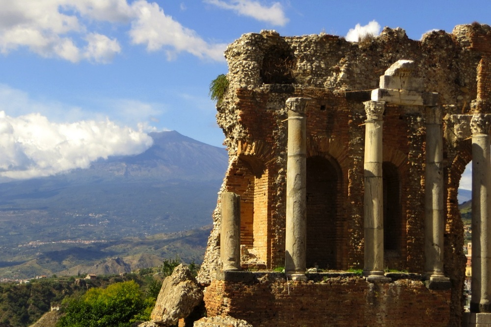 Sizilien Teatro Greco