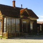 Verfallenes Haus in der Geisterstadt Bodie