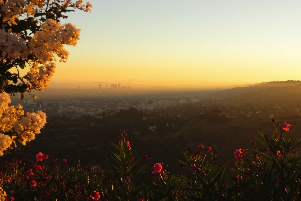 Kalifornien Urlaub Los Angeles Sonnenuntergang