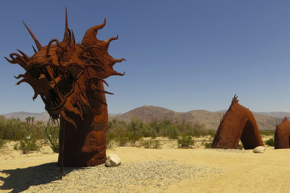Urzeitmonster im Anza Borrego Desert Park
