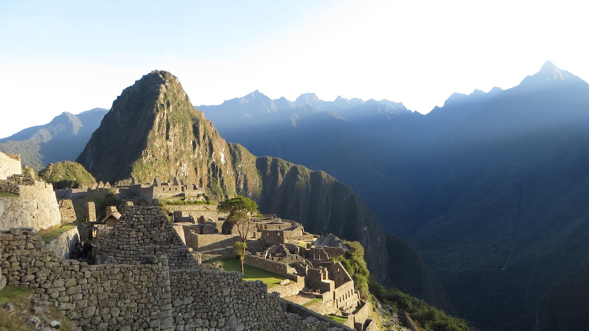 Backpacking in Suedamerika Machu Picchu