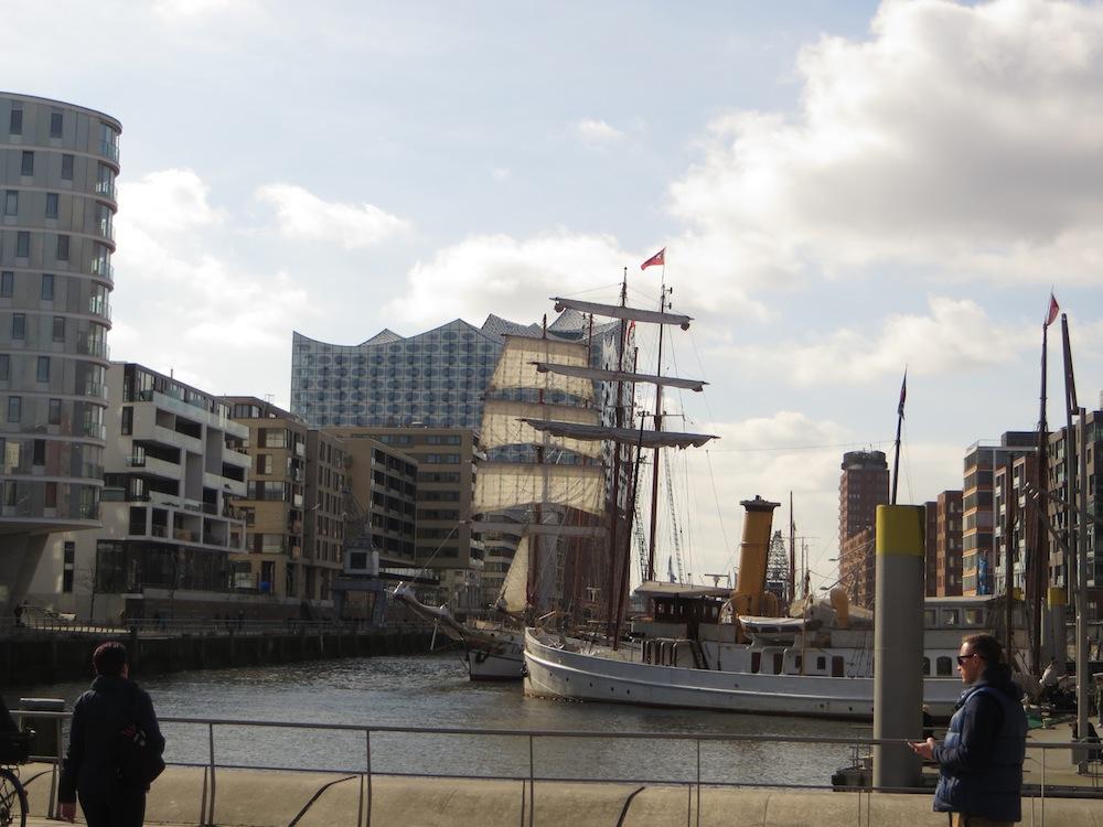 Hamburg Hafencity Magellan Terrassen