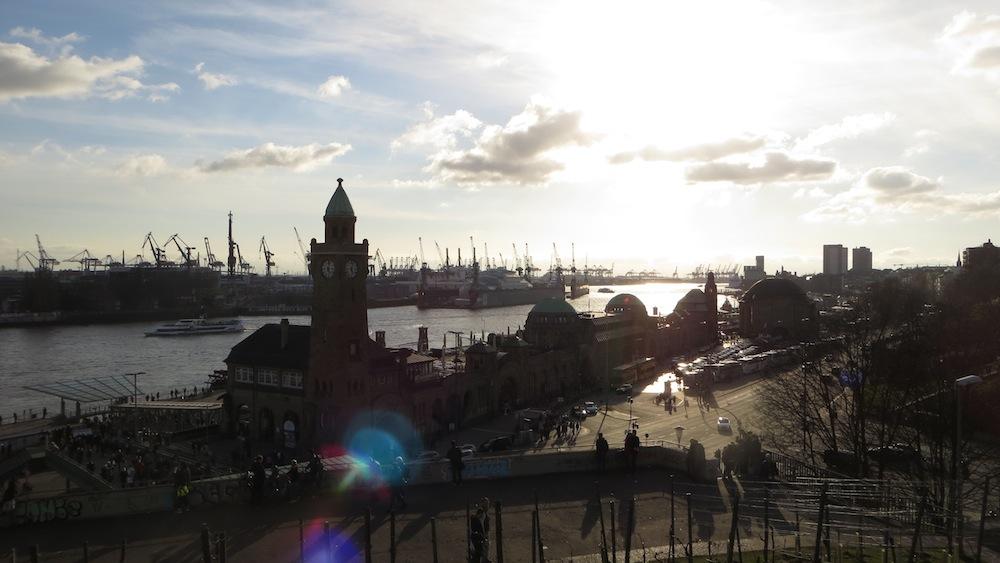 Hamburg Landungsbrücken Hamburg Liebeserklärung