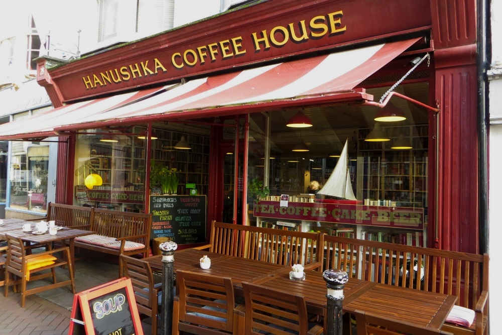 Hanushka Coffee House Hastings in England
