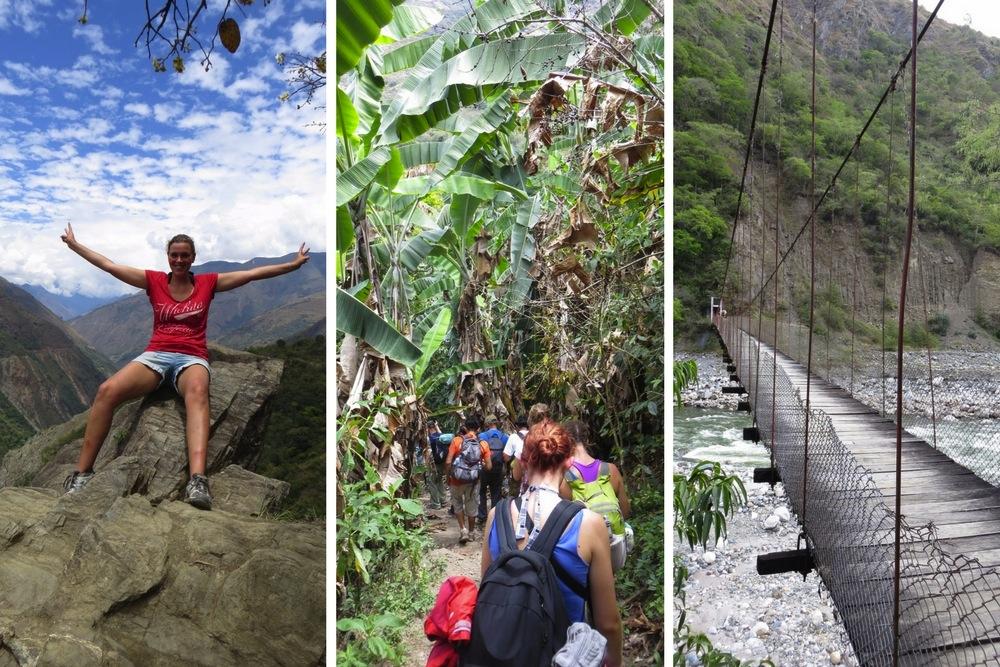 Trekking Machu Picchu Inca Jungle Trek Erfahrungen