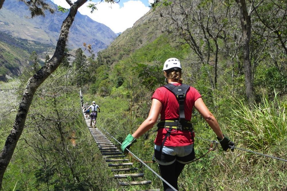 Ziplining Machu Picchu Peru