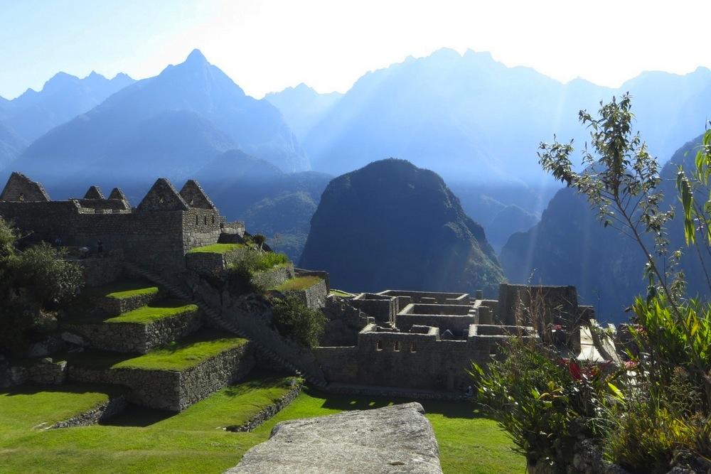 Sonnenaufgang Machu Picchu