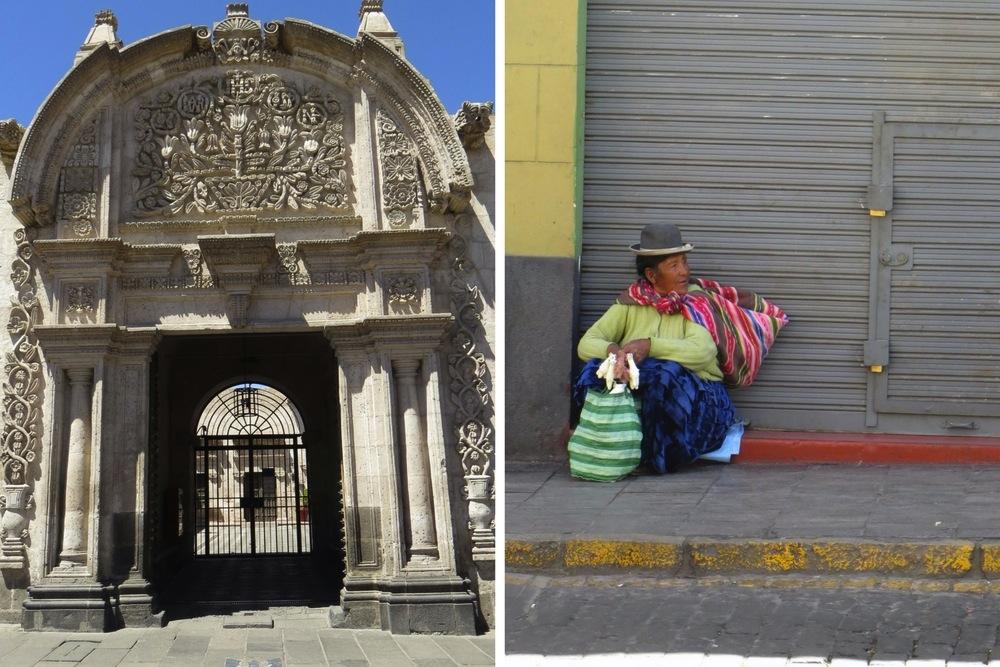 Peru Sehenswürdigkeiten Arequipa