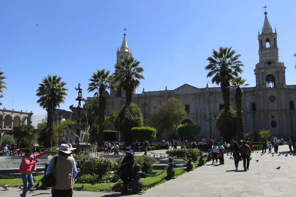 Peru Sehenswürdigkeiten Kathedrale Arequipa