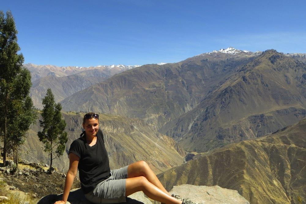 Peru Colca Canyon Wanderung