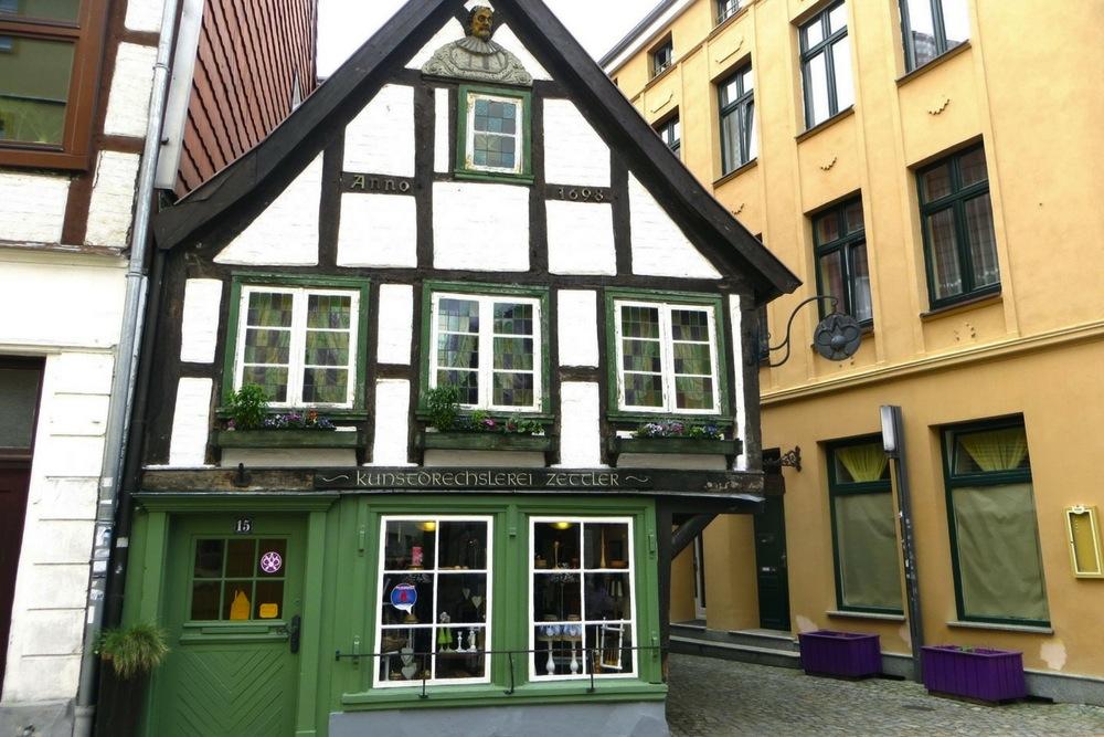 Fachwerkhaus Schwerin Altstadt