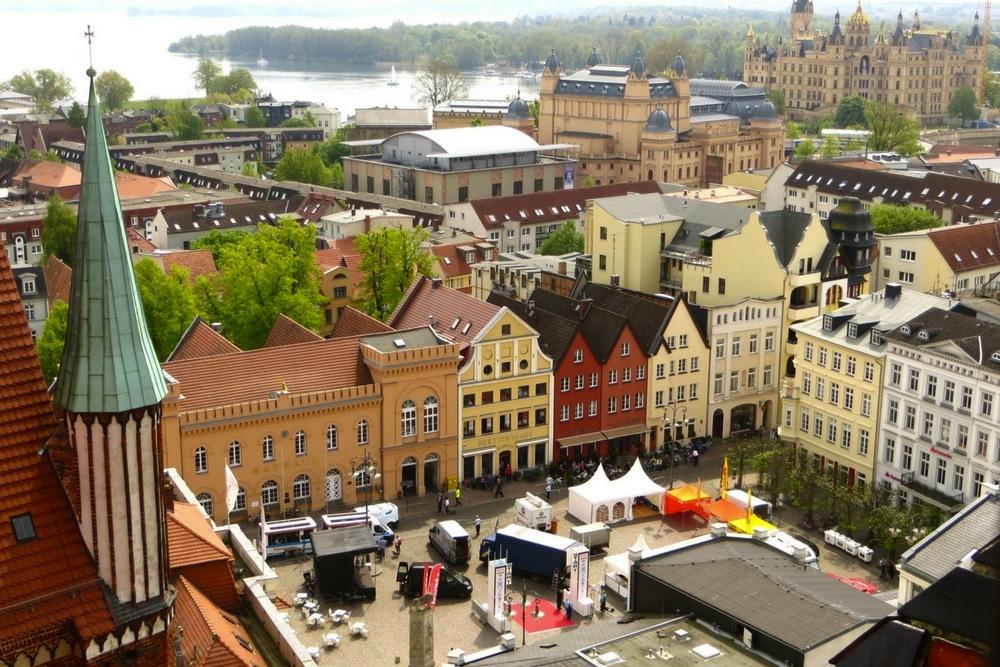 Aussicht vom Schweriner Dom
