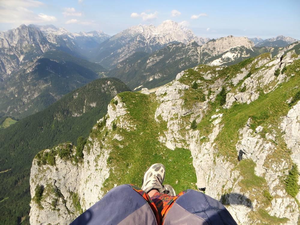Bovec Slowenien Paragliding