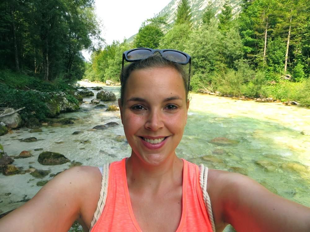 Bovec Slowenien Soca Trail