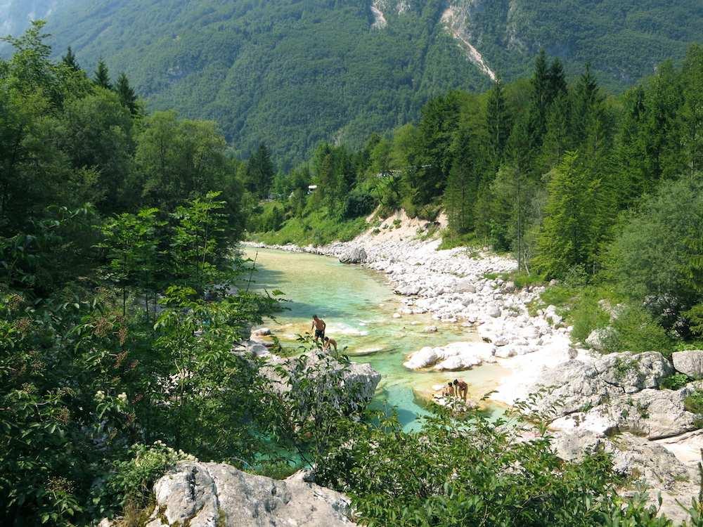 Slowenien Soca Tal