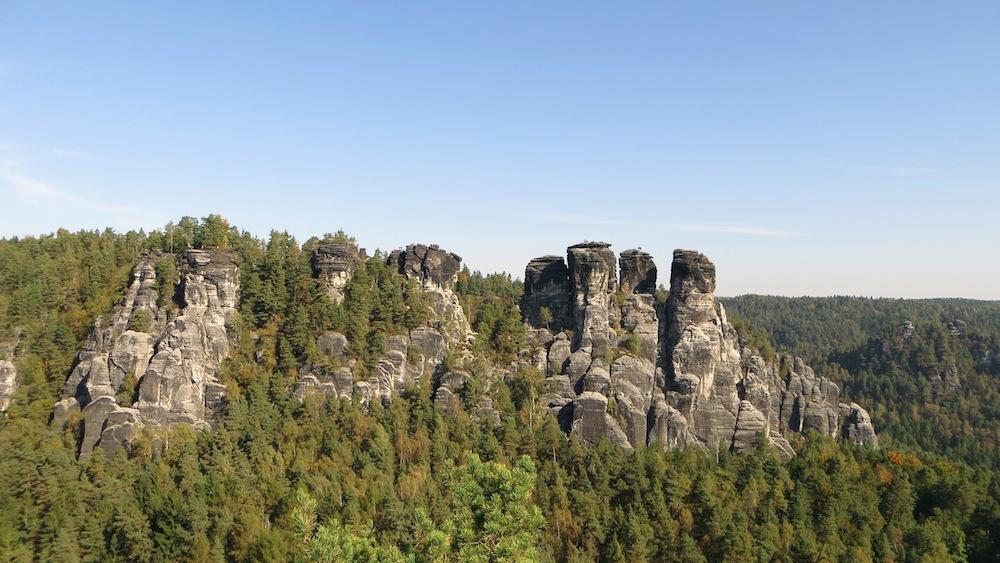 Die Aussicht von der Felsenburg Neurathen gehört zu meinen Highlights in der Sächsischen Schweiz.