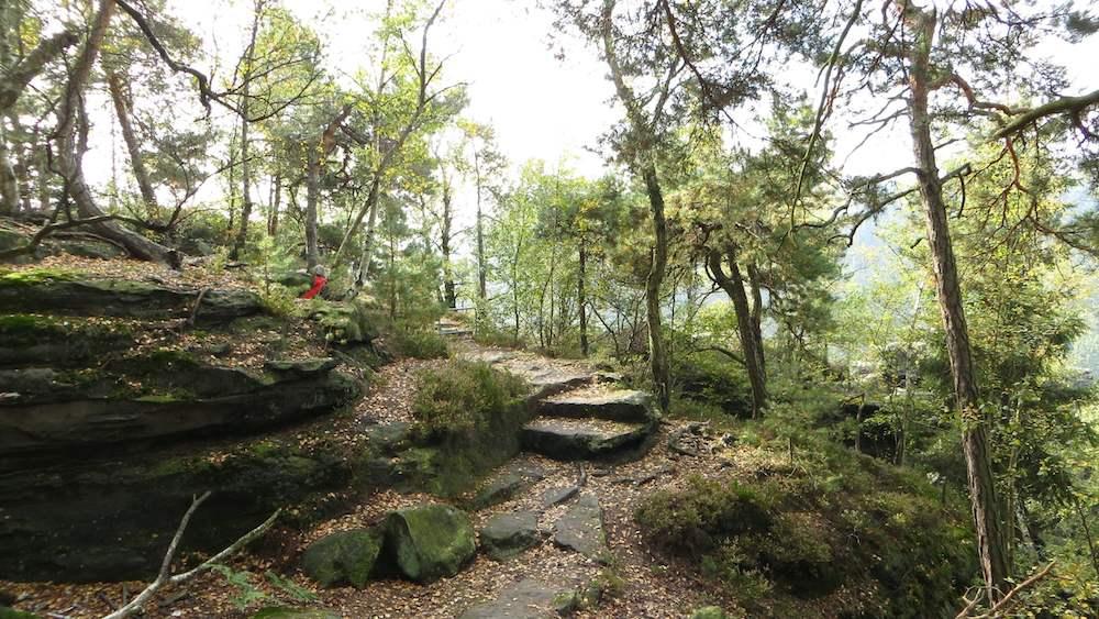 Elbsandsteingebirge wandern Bielatal