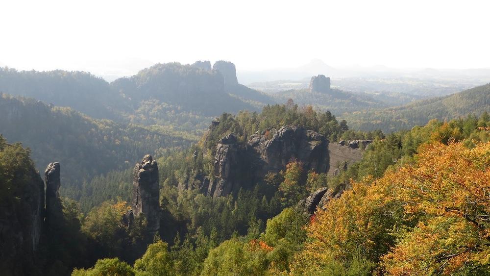 Die Aussicht vom Carolafelsen ist für viele ein Highlight der Sächsischen Schweiz.
