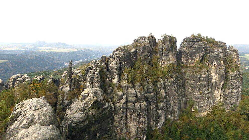 Schrammsteinaussicht Sächsischen Schweiz