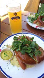 Mittagessen im Hahndorf Inn
