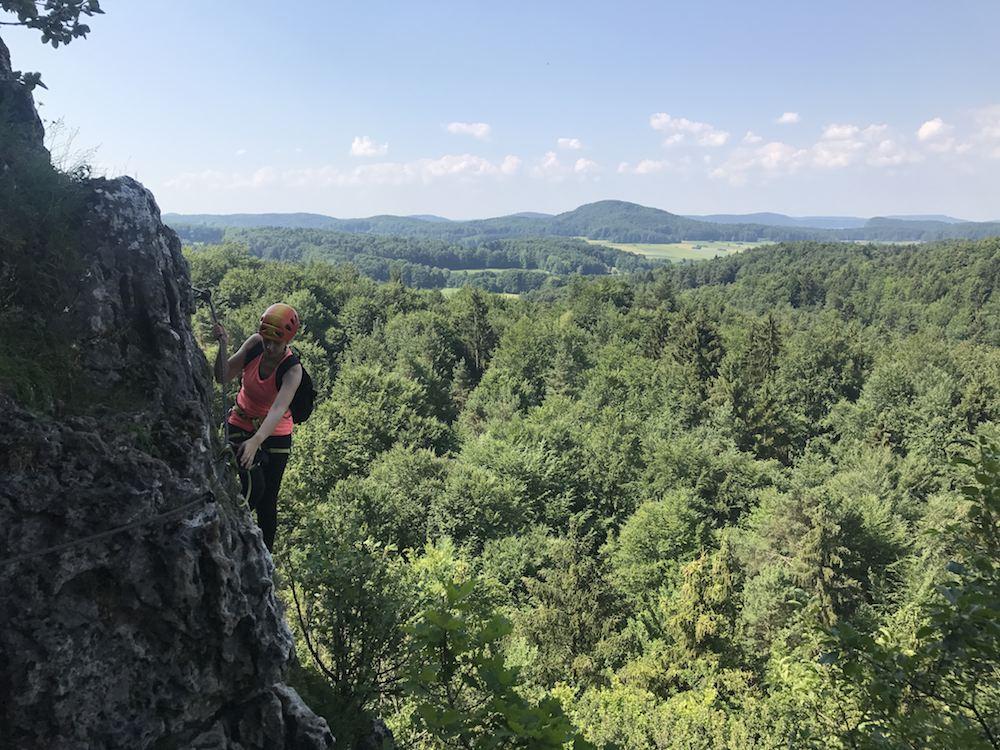 Höhenglücksteig für Anfänger