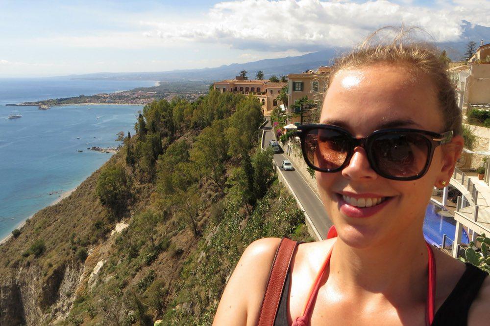 Selfie alleine reisen